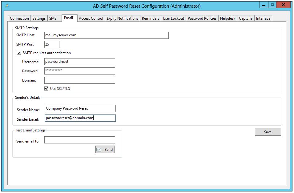 Active Directory Password Reset, AD Self Password Reset