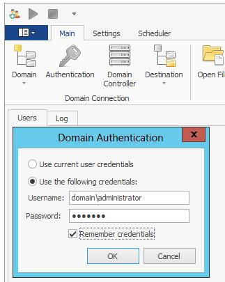 AD Bulk Users Documentation - Dovestones Software